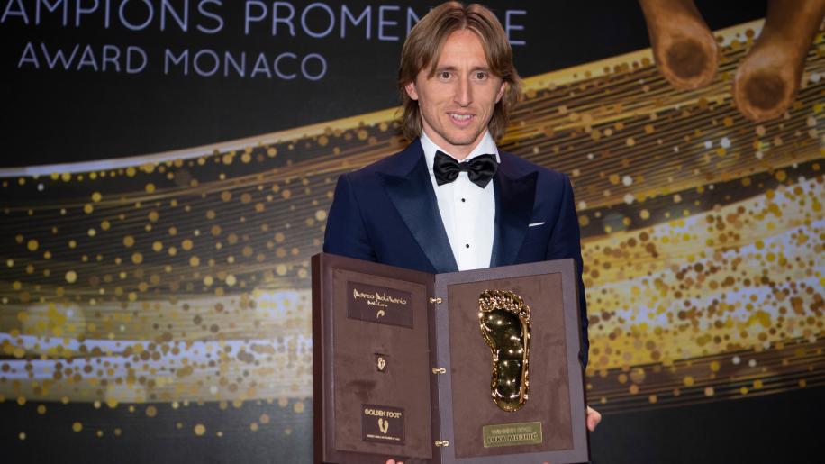 Monte Carlo: è Luka Modric il vincitore del XVII Golden Foot