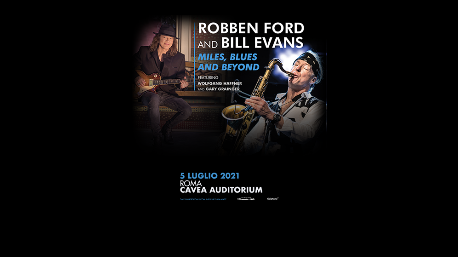 Robben Ford e Bill Evans: le date del tour Miles, Blues and Beyond