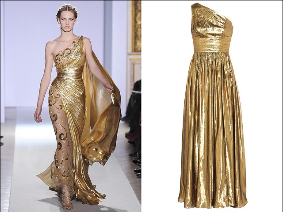 L oro è l ultima moda in fatto di abiti