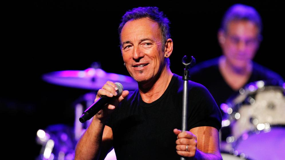 Anche Bruce Springsteen ama il week end