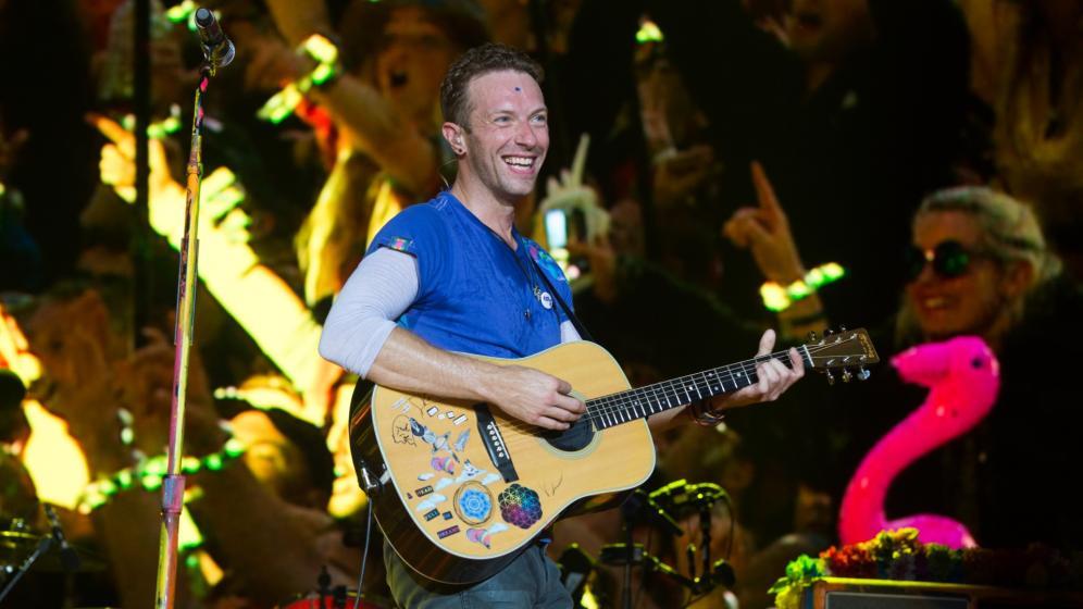 I Coldplay presentano la versione acustica di Higher Power: il video