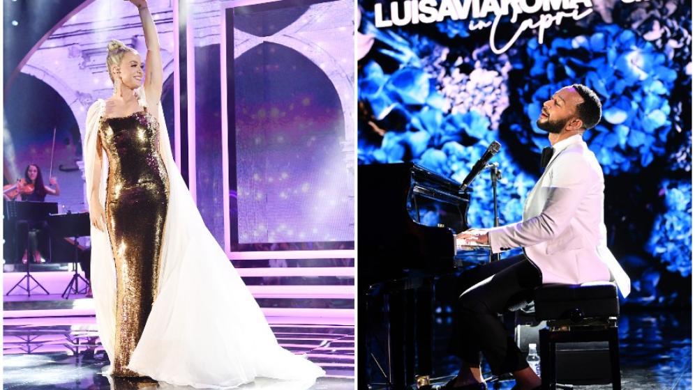 John Legend e Katy Perry a Capri: l'omaggio ad Audrey Hepburn
